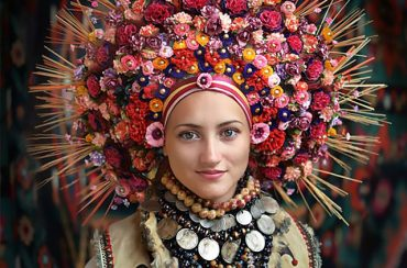 Ukrainian flower crown - vinok